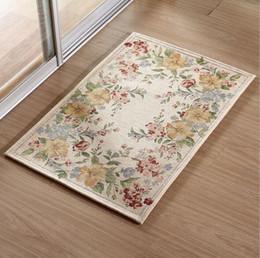 90x90cm Factory Bedroom Carpet European Style Living Room End Table Mat Office Mats