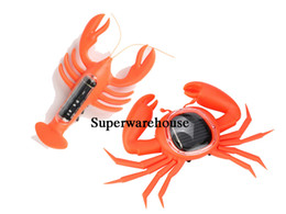 $enCountryForm.capitalKeyWord UK - 2017 Solar Powered Lobsters And Crab Gadget Brain Game Kids Toys Educational Funny toys