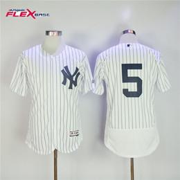 b87db6405 ... cheap men yankees jerseys 5 joe dimaggio jersey flexbase cool base home  away white red black