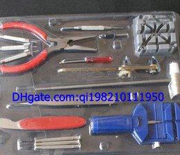 Watch fixing tools online shopping - Professional Mens Womens Wrist Watches Repair Tools Make Watch Repair Fix Tool Kit for Watchmaker