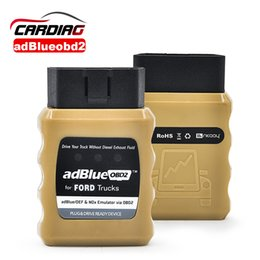 Discount adblue obd2 emulator Wholesale-AdblueOBD2 Adblue Emulator For Renault MAN DAF IVECO Volvo SCANlA Optional Nox Emulator OBD2 free shipping