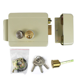 electric lock electronic door lock for vide intercom doorbell door access control security system f1666y