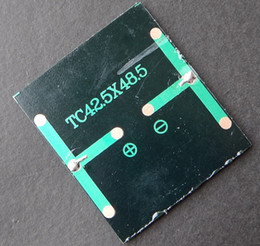 $enCountryForm.capitalKeyWord Canada - Wholesale Mini 0.36W 2V Solar Cell Polycrystalline Solar Pane Module l DIY Solar Toy Panel System Education Kits 1000pcs 42.5*48.5MM