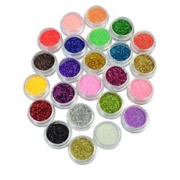$enCountryForm.capitalKeyWord Canada - Nail Art Tool Kit 24 Colors Metal Shiny Glitter Acrylic UV Powder Dust Gem Nail Tools Decoration