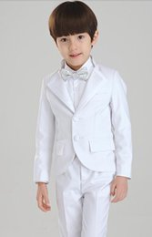 $enCountryForm.capitalKeyWord Canada - 2016 black boy suit long-sleeved flower Boys dress for wedding, graduation dress birthday dress 007(jacket+pants+vest+tie)