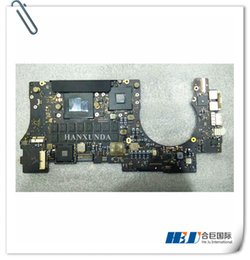 "Isa Motherboards Canada - 820-3332-A Genuine A1398 motherboard Core i7 2.6GHz 8GB For Mac Book Pro Retina 15"" 2013 Motherboard"