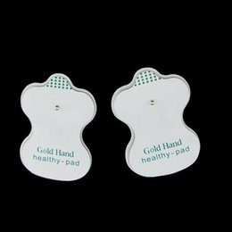 Barato Dez Centavos De Reposição De Máquinas-Durable Tens Pads de eletrodo para terapia digital Acupuntura Machine Massager Replacement Pads
