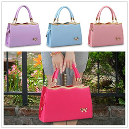 Wholesale New arrival bag bow sweet lady fashion women s handbag Messenger shoulder bag BAG33