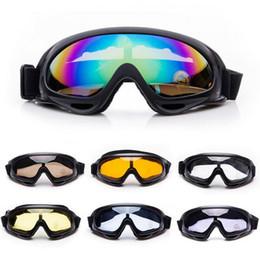 $enCountryForm.capitalKeyWord NZ - Outdoor X400 Windproof Motorcycle Goggles Eyewear Protective Ski Snowboard Motorcross Impact Resistant UV400 Glass Goggles Military glasses