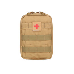 China Outdoor sports purse tactics medical first aid kit Army fan tactics pack Unexpected help Outdoor necessities suppliers