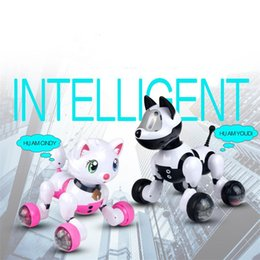 $enCountryForm.capitalKeyWord Canada - Youdi Voice Control Dog and Cindy Voice Control Cat Smart Robot Electronic Dog Cat Voice Control Pet Program Gift for Kids