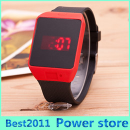 Discount new watch touch screen - 2015 2016 HOT Sale new Fashion Luxury Brand Touch Screen LED watch men&women wristwatch Sport Silicone Analog children D