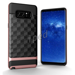 Black diamonds for cheap online shopping - Hybrid Armor Antiskid Wire Drawing Diamond Mirror Smart Cover TPU Case For Iphone X ten i8 Plus Note Shockproof Brushed Back Cheap