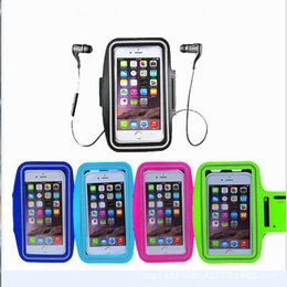 $enCountryForm.capitalKeyWord Canada - Waterproof Armband Case Sports Gym Running Arm Phone Bag Armband Holder Pouch Cover For iphone X 8 7 plus 6 6s plus samsung note 8 s8
