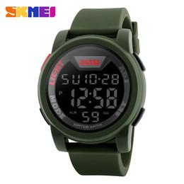 $enCountryForm.capitalKeyWord Australia - SKMEI Brand Men Military Sports Watches Waterproof LED Digital Watch Big Dial Silicone Alarm Wristwatch Running Watch For Men Clock 1218