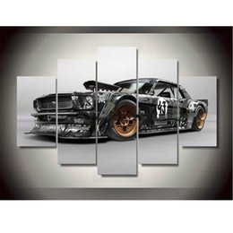 free car posters canada canvas printings ford mustang rtr car painting wall art home decoration