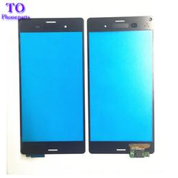 original sony xperia z3 2019 - Original New Touchscreen Panel For Sony Xperia Z3 L55T L55U D6653 D6633 D6603 Touch Screen Glass cheap original sony xpe