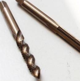 Thread Tapping Tools Canada - 4 pcs set Spiral Flute Cobalt Threading M3, M4 Screw Thread Metric Plugs Taps, machine screw taps