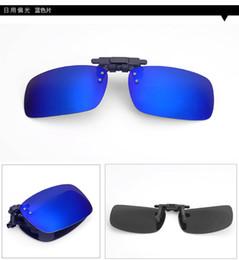 8407a2fd7df Uv400 Driving Polarized fold Sunglasses Super Light Unisex Flip Up  Eyeglasses Brand New Men Women Polarized Clip OnSun Glasses Night Vision