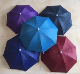 7b926f1e Fashion Hot Usefull Umbrella Hat Sun Shade Camping Fishing Hiking Festivals  Outdoor Brolly