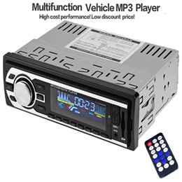 $enCountryForm.capitalKeyWord Canada - High Quality 12V Car Radio Audio Stereo FM SD MP3 Player AUX USB In-Dash 1 DIN Car Electronics with Remote Control