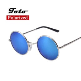 3579f561404 2016 New Classic Polarized Round Sunglasses Men Small Vintage Retro Mirror John  Lennon Glasses Women Driving Metal Eyewear Brand