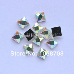 2014 New Square Hot-fix Shaped 6 6mm 130pcs lot Crystalab Rhinestones Hot  Fix Dmc Rhinestone On Iron for Garment M63066 6d5d04c964e7