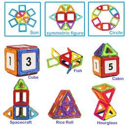 Опт Магнитные блоки набор развивающие игрушки Магнит строительный блок плитки набор для мальчиков и девочек 24 шт.