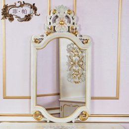 antique hand carved furniture classic provincial home furniture dressing mirror - Hand Carved Bedroom Furniture