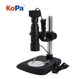 Oculaire électronique vidéo microscope HD1080P 5.0MP CMOS professionnel pour l'inspection de qualité, l'entretien, la bijouterie, le criminel, l'impression et la banque en Solde