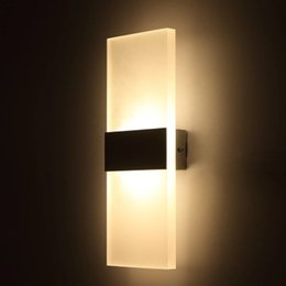 led lamp bedside bedroom wall lamp room balcony staircase aisle lamp modern minimalist creative commercial lighting hight quanlit