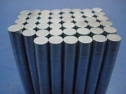$enCountryForm.capitalKeyWord Australia - Wholesale - In Stock 500pcs Strong Round NdFeB Magnets Dia 5x1mm N35 Rare Earth Neodymium Permanent Craft DIY Magnet Free shipping