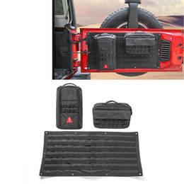 Wholesale Canvas Repair Tool Kit Tailgate Storage Bag Set High Quality Best Selling Fit For Jeep Wrangler