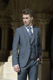 Barato Boys Para Venda-Hot Sale Custom Made Groom Tuxedos, Handsome Formal Suit Dinner Suit Groomsman Suit Boy039; s Suit