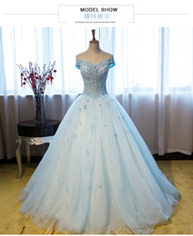 $enCountryForm.capitalKeyWord Canada - cinderella blue full small flowers embroidery beading veil ball gown cosplay medieval dress belle ball stuido dance stage performance