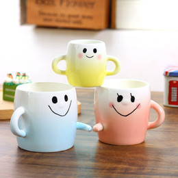$enCountryForm.capitalKeyWord Canada - Wholesale- Wedding gift mug, creative personality cute parent-child a family of three mug, ceramic mouthwash mug
