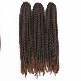 Ombre Kanekalon Jumbo Braid Hair UK - Hot Selling 120g pcs 24'' Synthetic Braiding Hair Kanekalon Jumbo Braid Hair Havana Mambo Twist Crochet Hair Free Shipping
