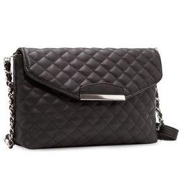 Black Leather Bags Women S Handbags Canada - Chain Cross Body Women\'s Handbag Crossbody Bags Women PU leather Handbags Shoulder Bag Women Messenger