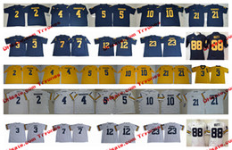 8c2d0e846 Michigan Wolverines 88 Jake Butt 3 Rashan Gary Chris Evans Tyree Kinnel  Khaleke Hudson 10 Tom Brady Peppers Woodson Harbaugh Howard Jerseys