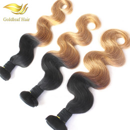 Ombre twO tOne hair extensiOns online shopping - T B Ombre Hair Extensions Ombre Hair Weaving Two Tone Color Hair Body Wave Hair Weaving