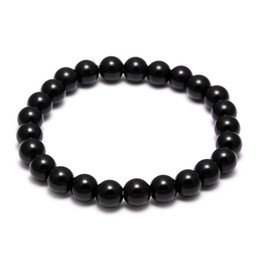 ring slides UK - Lava Natural Stone Elastic Charms Bracelets Anti-fatigue Volcanic Rock Charm Bracelets Prayer Beads Bracelet Handmade Diffuser Jewelry