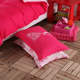 discount girls pink twin comforter sets pink color girls bedding set 4pcs or 3pcs for queen