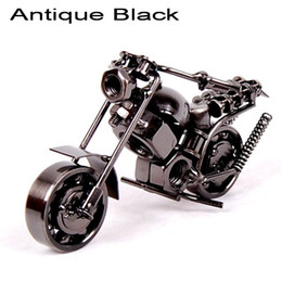 $enCountryForm.capitalKeyWord Canada - 2016 wrought iron Motorcycle sports Manual metal model   birthday gift   creative gifts   home decor 2 colors option