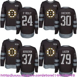 ... Custom Mens Womens Kids 2017-2018 New Logo Boston Bruins 30 Gerry  Cheevers Jeremy Lauzon Boston Bruins Throwback Stitched jersey 17 Milan  Lucic 24 Terry ... 4a99802fb