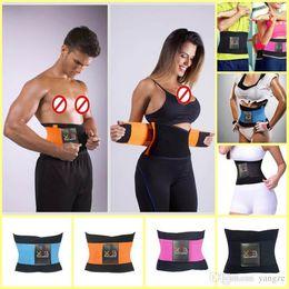 b09142df64 2016 Newest Women Men Sports Waist Trainer Training Xtreme Power Belt Spine  Recover Belt Shaper Adjustable Back Support Breathable 8009