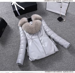 $enCountryForm.capitalKeyWord Canada - New women's fashion luxury genuine sheepskin leather natural fox fur collar long sleeve duck down padded parka coat casacos 3XL