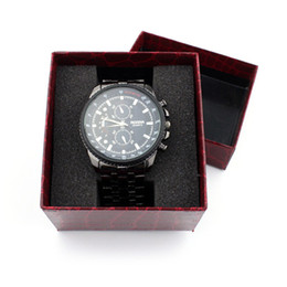 Chinese  Wholesale-Durable Fashion watch box Portable Travel Watch Case Crocodile Present Gift Box Case For Bracelet Bangle Jewelry Watch Box manufacturers