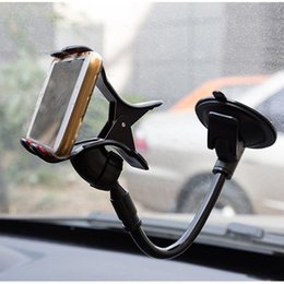 360 градусов лобовое стекло автомобиля крепление телефона Универсальный автомобильный держатель кронштейн стоит держатель мобильного телефона для iPhone 6 6 Plus 5 для Samsung Smartphon на Распродаже
