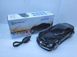 Опт HY-BT107 HY-BT207 Дешевые Bluetooth-динамик Мини-модель автомобиля Cadillac Поддержка динамиков TF-карта Функция вызова Радио Экран