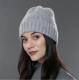 $enCountryForm.capitalKeyWord Canada - FUR Winter hat for women Unisex beanies caps knitted cashmere European-American casual hat 2016 brand new sport ski gorro